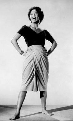 Dorothy Dandridge, in Carmen Jones, 1954