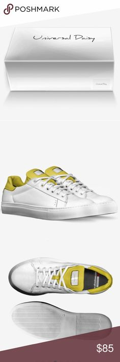 Universal Daisy Unisex Shoes ( Not for Sale) These are just protype  samples for my future possible shoe collection. COMMMENT OR LIKE ON WHAT I CAN IMPROVE. Universal Daisy Shoes Sneakers