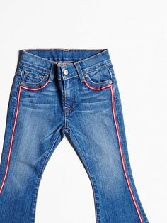 Charlie Flare Zig Zag Embroidered Jeans - Girls - Lucky Brand Jeans