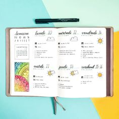 """1,371 Likes, 24 Comments - Ady's Bujo ⭐️ (@adybulletjournal) on Instagram: """" Here's last week's #weeklyspread in my #bulletjournal Question of the day : what are your…"""""""