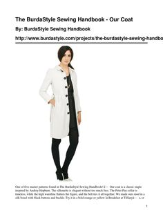 Burdastyle coat