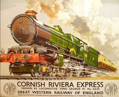 Malcom Guest via dailymail.co.uk  All aboard the Nostalgia Express: Collection of old railway posters...