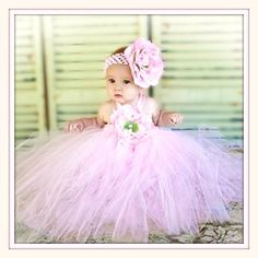Pink princess tutu from Zilly Bean----cuteness overload! Baby Tutu Dresses, Pink Tutu Dress, Baby Girl Tutu, Little Girl Dresses, Baby Dress, Flower Girl Dresses, Baby Skirt, Baby Girls, Toddler Tutu