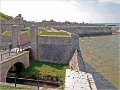 Remparts de Saint-Martin-de-Ré, de l'architecte Vauban. Charente-Maritime