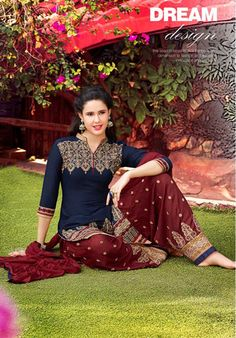 Patiala House vol 28 Cotton Salwar Kameez, Shalwar Kameez, Patiala, Party Wear, Sari, Boho, How To Wear, House, Stuff To Buy