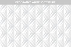 White decorative 3d texture.Seamless by ExpressShop on @creativemarket