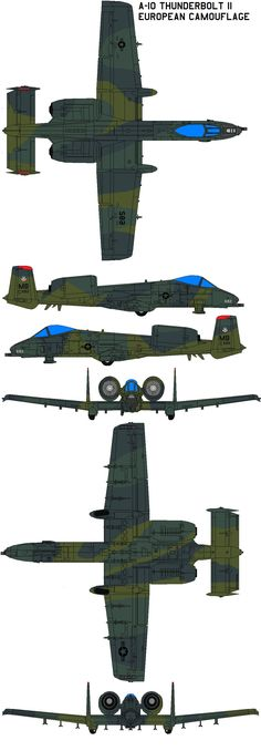 A-10 Thunderbolt II European Camouflage Overview Service Life Operating Locations and RoadMap Specifications Images Sources and Resources The A-10 and OA-10 Thunderbolt IIs are the first Air Force ...