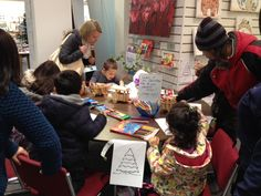 This colouring competition held in the shop was really popular and helped promote a local business which imported coloured pencils and crayons.