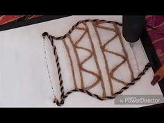 (497) Jute nd Woolen Scenery/Rope Craft/Woolen Craft ideas - YouTube