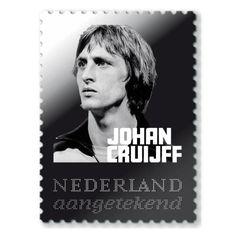 Johan Cruijff Zilveren Postzegel / Beperkte Oplage | eBay