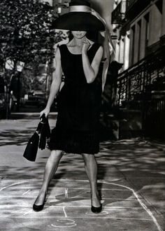 Audrey Hepburn sul set del film Colazione da Tiffany  1961