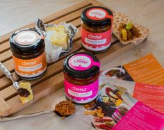 Indian food gift Spicy chutneys and pickles by CheekyFoodCo