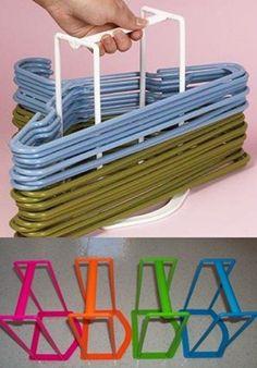 CLOTHES HANGER Storage Rack Portable Standing Wardrobe Closet Laundry Organizer