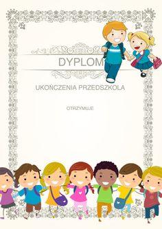 Pożegnanie Przedszkola: Dyplomy do druku 1 Diy And Crafts, Education, Moldings, Poster, Onderwijs, Learning