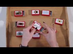 Egyszerű játék gyufásskatulyákból - Hol élnek az állatok? - YouTube