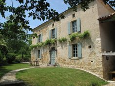 This is a classic style house of this region - and many people's idea of a quintessential French home I think