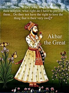 Akbar known as Akbar the great was a Mughal emperor. A strong personality and a successful general, Akbar gradually enlarged the Mughal empire. Akbar was also the most tolerant of emperors of other religions, Akbar's reign significantly influenced the course of Indian history, during his rule the Mughal empire tripled in size and wealth. Akbar was succeeded by his son Jhangir.