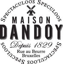 Maison Dandoy - Speculoos. Nice branding, Speculoos video Rue au Beurre, Brussels
