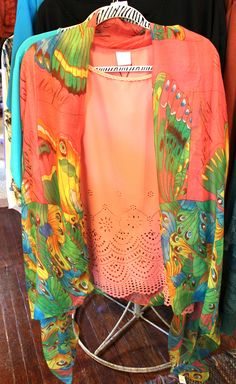 Bright clothing! Perfect for summer