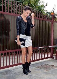 Rock my stripes (by Alina Filipescu) http://lookbook.nu/look/2561017-Rock-my-stripes