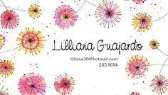 Tarjetas de Presentacion Creaciones Lilly
