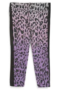Leopard Print Leggings (Toddler Girls & Little Girls)