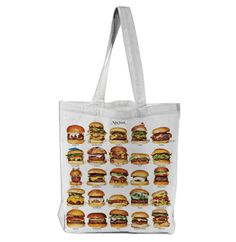 Very Goods | 25 New York Burgers Tote designed by New York Magazine | Print All Over Me