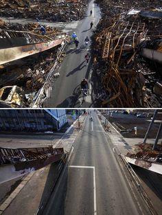 Imágenes del Tsunami en Japón.  (11/03/2011)