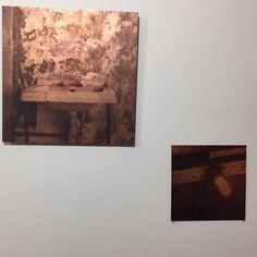 Serie lavamanos fotografía sobre cobre , Carolina Oltra