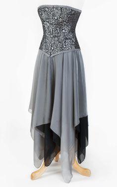 Moongazer Corset & Skirt 2 piece set by TheDarkAngelDesignCo