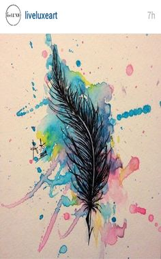 How to draw a feather Painting Inspiration, Art Inspo, Feather Drawing, Gcse Art Sketchbook, Doodle Art, Body Art Tattoos, Creative Art, Art Girl, Painting & Drawing
