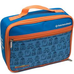 I Have Food Allergies Lunch Bag (BLUE) Tree Nut Allergy, Peanut Allergy, Kids Allergies, Medical Bag, Snack Bags, Lunch Bags, Nut Free, Meals For One, Pill Boxes