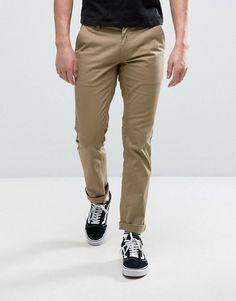 BRIXTON RESERVE CHINOS IN STANDARD FIT - GREEN. #brixton #cloth #