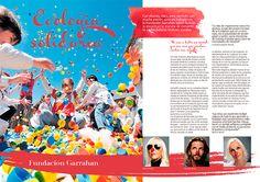 """Re-diseño de revista institucional """"Colorear"""" de Colorshop, Diseño Institucional, ESAV, Bahía Blanca, 2015."""