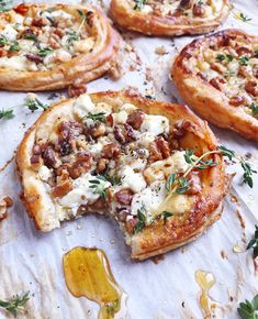 Goat Cheese and Walnut Tarts. - DomestikatedLife