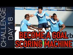 Becoming a goal scoring machine means being effective not just shooting on the ground but becoming an aerial threat. Soccer Gear, Soccer Drills, Soccer Stuff, Football Training Program, Training Programs, Football Music, 5 Ways, Scores, How To Become