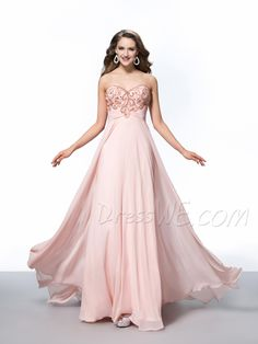 Gorgeous A-Line Sweetheart Beading Evening Dress 10984034 - Evening Dresses 2014 - Dresswe.Com
