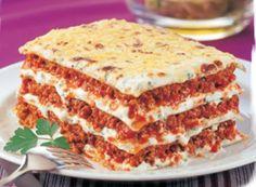 Lasagnes bolognaises à ma façon