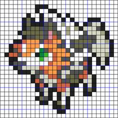 Pokemon Solgaleo, Hama Beads Pokemon, Pixel Art, Perler Bead Art, Kandi, Best Part Of Me, Doodle Art, Beading Patterns, Cross Stitch