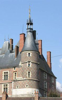 Chateau De Gien, South Tower, France