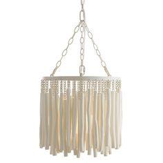 Tilda Whitewashed Wood One Light Pendant Arteriors Home Drum Pendant Lighting Ceiling Ligh Wood Pendant Light, Mini Pendant, Drum Pendant, Home Lighting, Chandelier Lighting, Chandeliers, Lighting Design, Beaded Chandelier, Chandelier Ideas