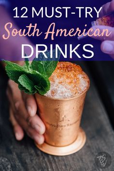 South America makes some delightful cocktails and has a surprising array of craft breweries and wineries. Don't miss these drinks on your next trip!