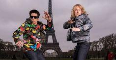 Ben Stiller et Owen Wilson posent devant la tour Eiffel pour Zoolander 2.