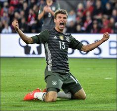 Es müllert wieder: Fußball-Weltmeister Deutschland hat dank Torjäger Thomas…