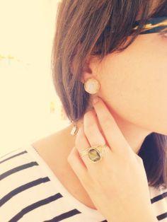 Judith Bright Jewelry - GF Large Nest Earrings, $228.00