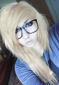 Consider, that blonde russian emo girl