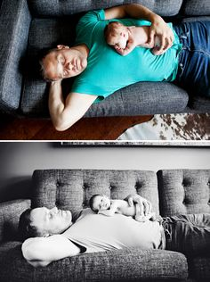 Beautiful Lifestyle Newborn Shoot in Toronto - On to Baby
