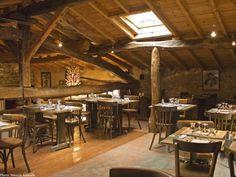 """La mezzanine du restaurant """"Le Moulin de la Pipe"""""""