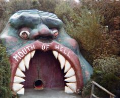 Mouth of hell #fangs #door #mouthentrance - Carefully selected by GORGONIA www.gorgonia.it