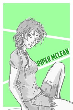 Piper McLean is part of the prophecy of seven